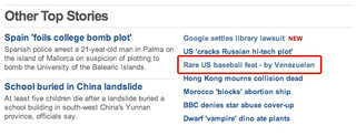 Venezuelan Man Is Good At Baseball, BBC Is Shocked To Report