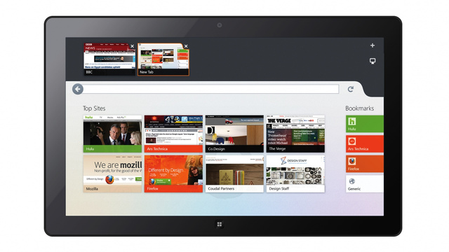 Here's the First Look at Firefox for Windows 8