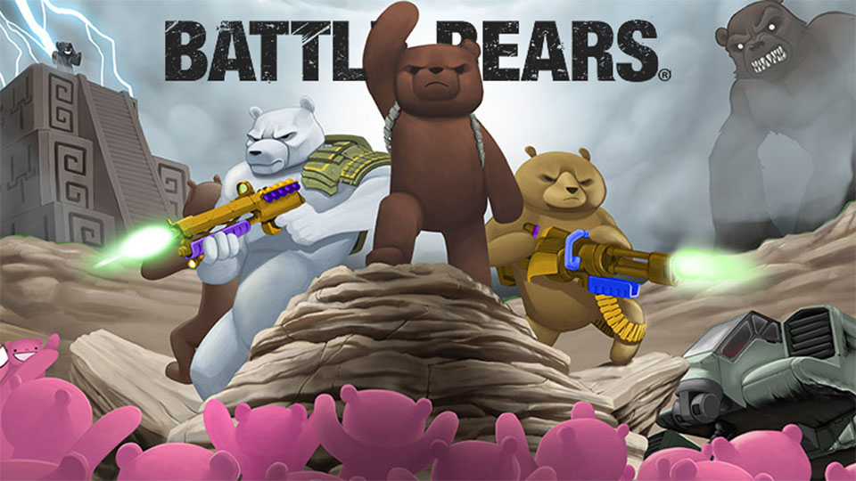 Click here to read <em>Battle Bears</em> Take the Fight to TV Animation