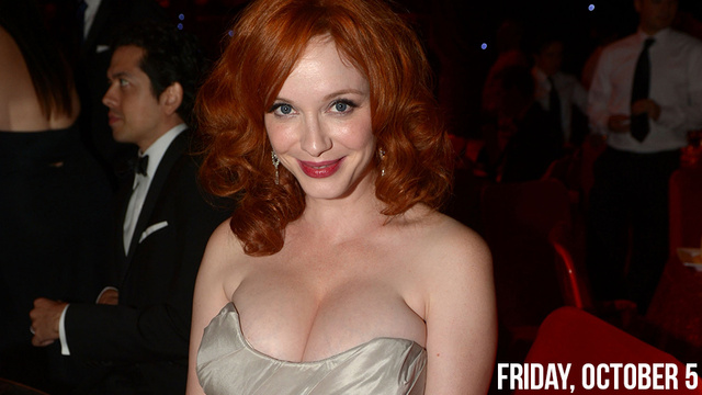 zac efron - Christina Hendricks Loathes Being Called 'Full-Figured'