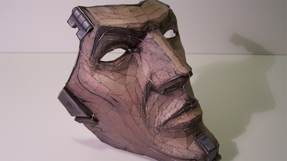 You Can Print Your Own Mask of Borderlands 2's Handsome Jack, Just In Time For Halloween [Borderlands]