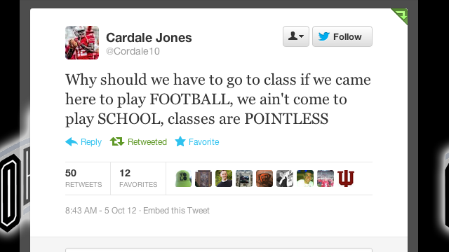 "Ohio State's Third-String Quarterback ""Ain't Come To Play SCHOOL"""