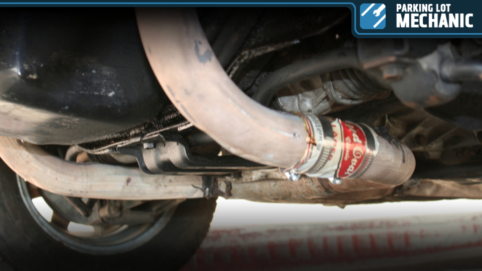 How To Fix Your Exhaust With An Empty Beer Can