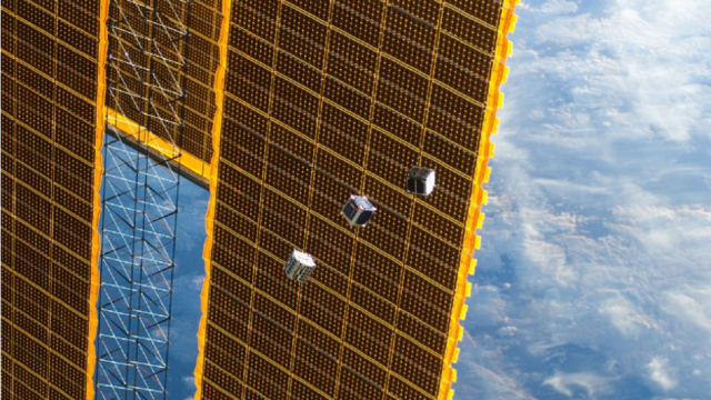 The World's Most Adorable Satellites Can Fit in the Palm of Your Hand