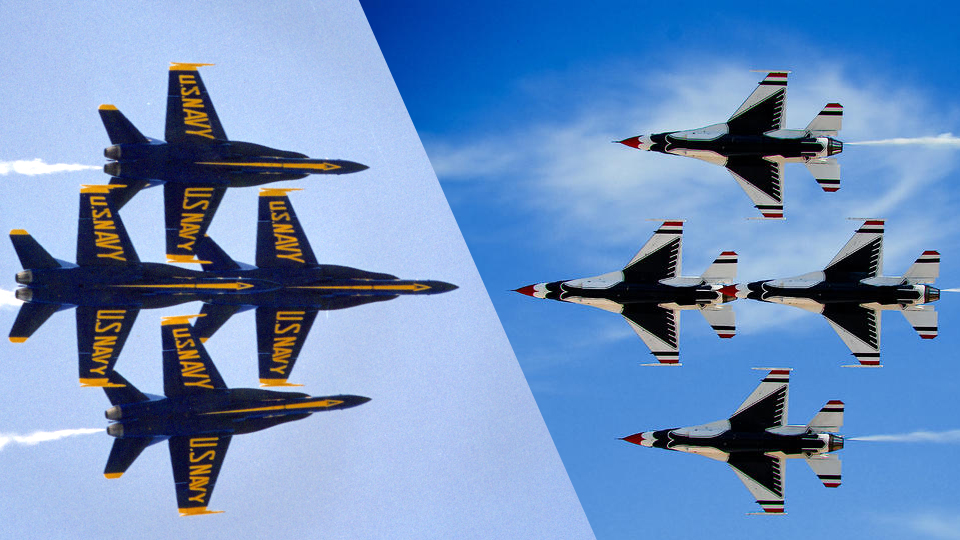 Click here to read Would You Rather Be a Pilot for the US Navy or the US Air Force?