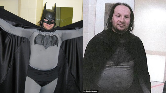 That Chubby Guy Dressed As Batman Got Arrested Again