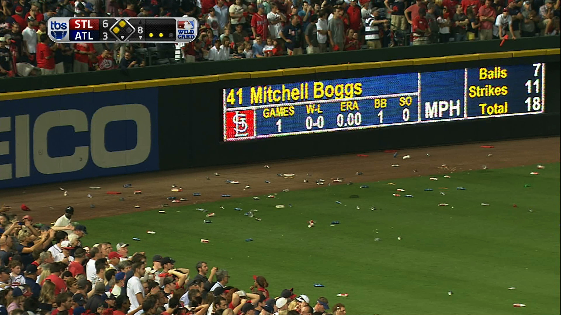 Braves Fans Attack Umpires With Garbage After Worst Infield Fly…