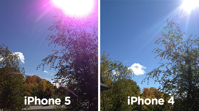 Click here to read Apple's Official iPhone 5 Camera Fix: Take a Different Picture