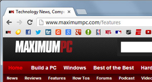 Chrome Favicons