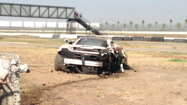 McLaren Driver Allegedly Crashed $250K Supercar Into Subaru BRZ After Ten Minutes On Track [UPDATES]