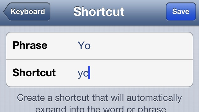 Click here to read Add Custom Words as Shortcuts to Circumvent iPhone Autocorrect
