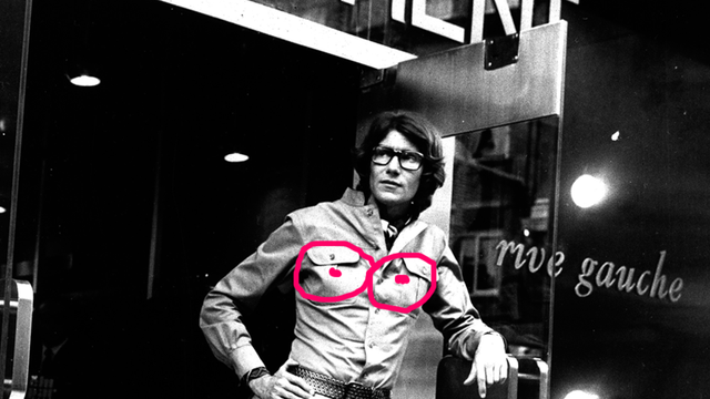 A 'Stolen' Cache of Yves Saint Laurent's 'Erotic Drawings' Has Reportedly Fallen into the Hands of the Germans