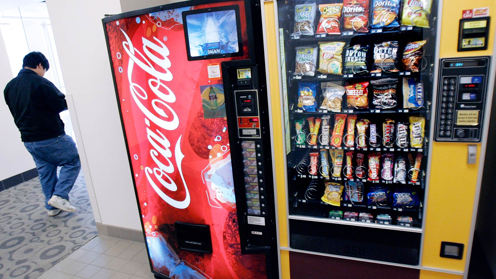 Would Calorie Counts On Vending Machines Stop You From