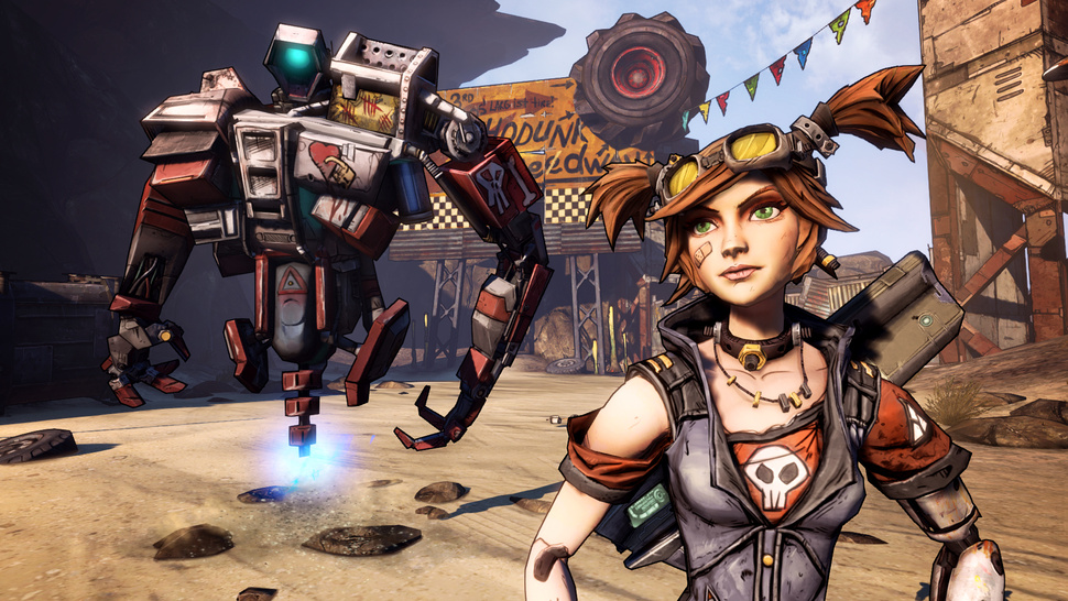 Surprise: <em>Borderlands 2</em>'s Mechromancer Will Arrive Early. And She's Great.