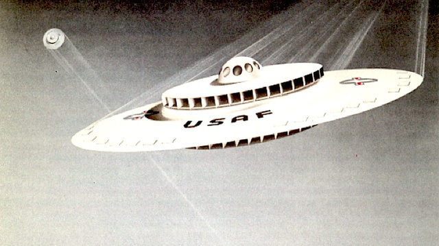 Declassified documents reveal Air Force's plan to build a UFO