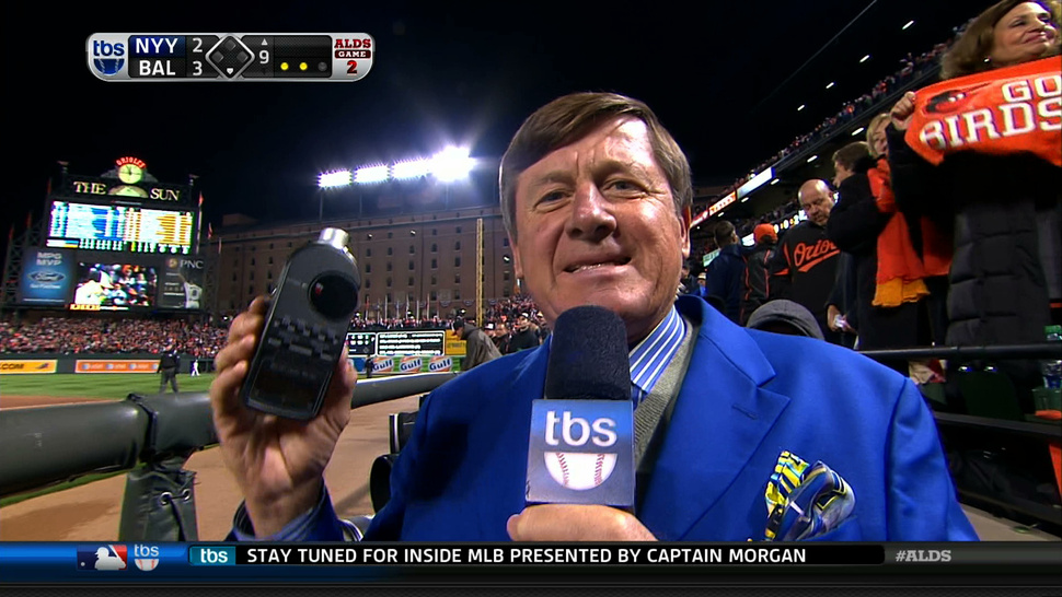 The TBS Sound Level Meter Readings Were Thrown Off By The Loudness Of Craig Sager's Suit