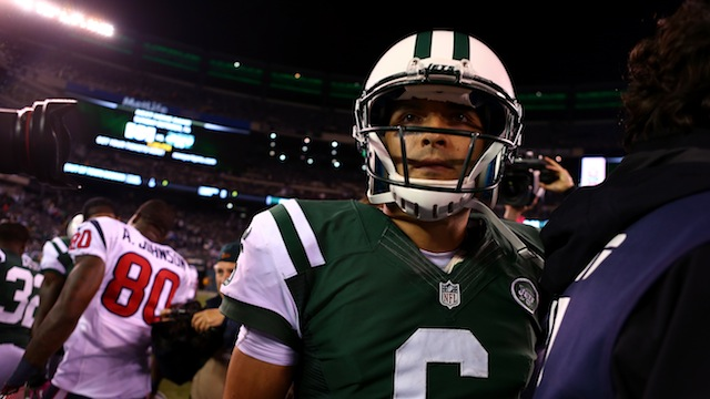 Mark Sanchez's Quarterback Rating Is 66.6 Because Of Course It …
