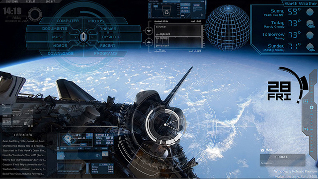 The Orbital Control Desktop