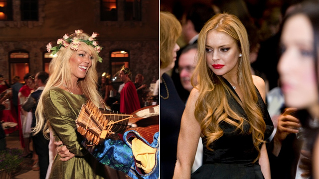 Lindsay and Dina Lohan Had a Huge Fight This Morning; an Ambulance and 'a Small Army of Police' Intervened