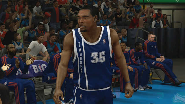 NBA 2K13 Misspells Oklahoma City's New Uniform [Update]