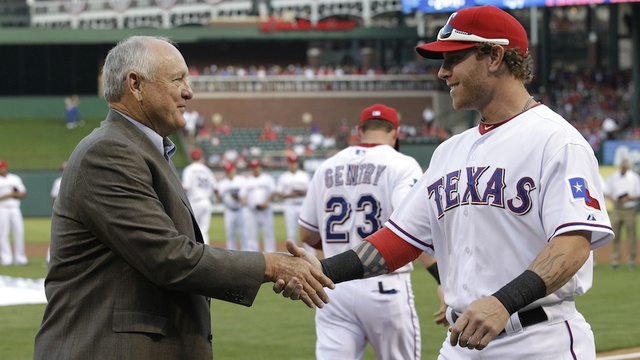 Nolan Ryan Says Josh Hamilton Should Have Waited Until The Offseason To Quit Chewing Tobacco
