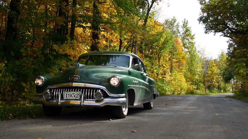 A Stunning 1952 Buick In The Fall