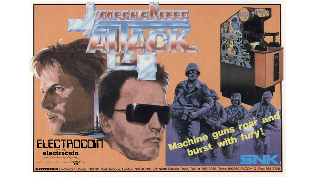 Boy, Arnold Schwarzenegger Was On The Cover Of Just About Every Game From The 1980s