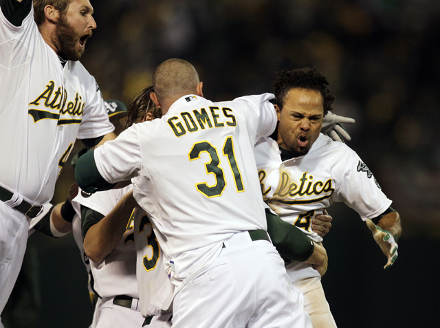 The Oakland A's Force Game 5 With An Epic, 9th-Inning Comeback …
