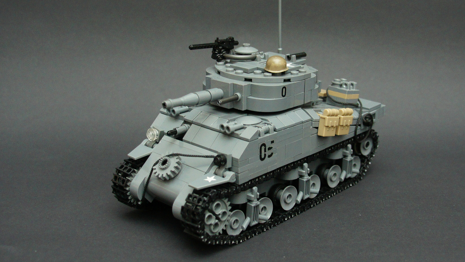 Lego genius rebuilds WWII vehicles