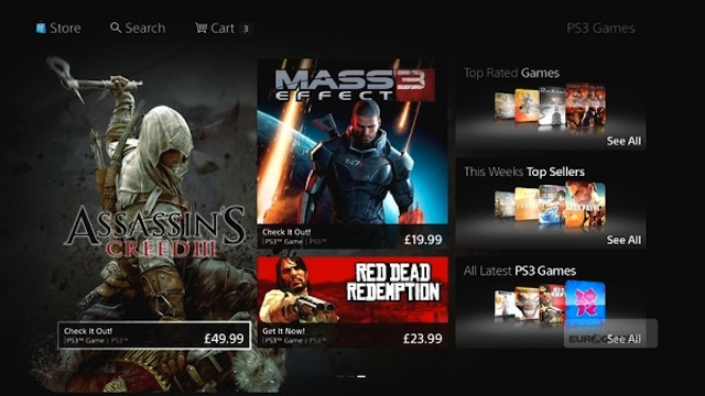 Here's the New Look for the PlayStation 3's Online Store [UPDATE: Comes To U.S. On 10/23]