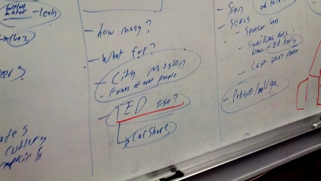 How a Whiteboard Helped a Terrible Delegator Keep a Team On-Task