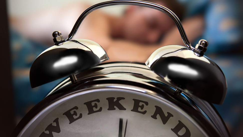 Do You Sleep in on The Weekend?