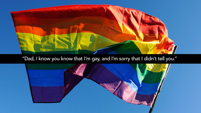Happy National Coming Out Day: My Dad Found Out That I'm Gay Through My Blog