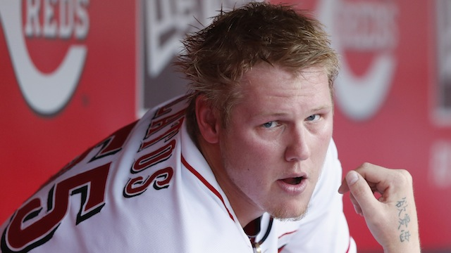 Latos takes the blame in series-ending loss