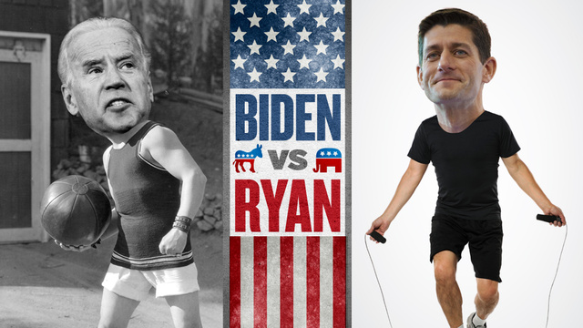 Get Totally Ripped With Our Vice-Presidential Debate Workout Game For Ladies!