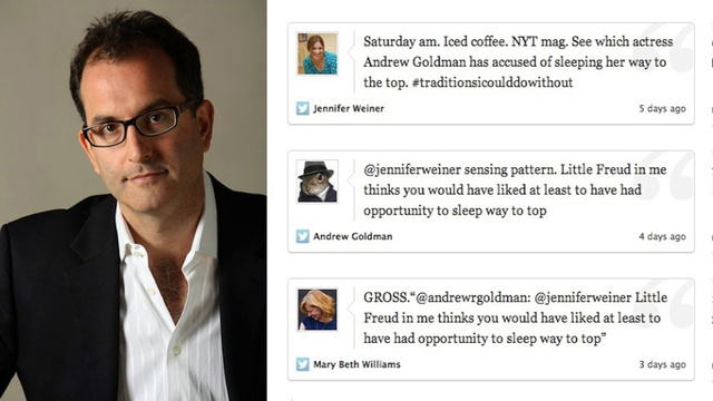Andrew Goldman Is Not a Misogynist, and Neither Am I