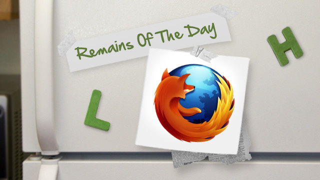 Remains of the Day: Mozilla Pulls Firefox 16 Due to Security Vulnerability [UPDATED]