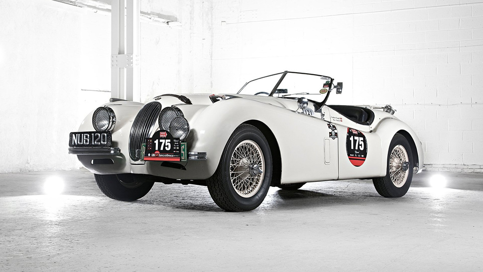 Would You Go Back In Time For A Jaguar XK120?
