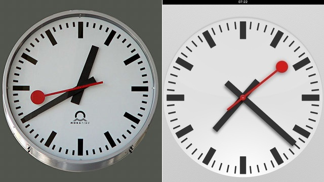Click here to read Apple's Going to Pay Up for the iOS 6 Clock Design It Stole