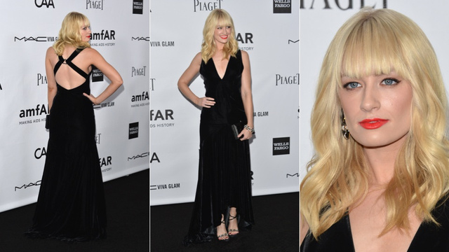 Celebs Rocked Sequins and Side Boob at the amfAR Gala