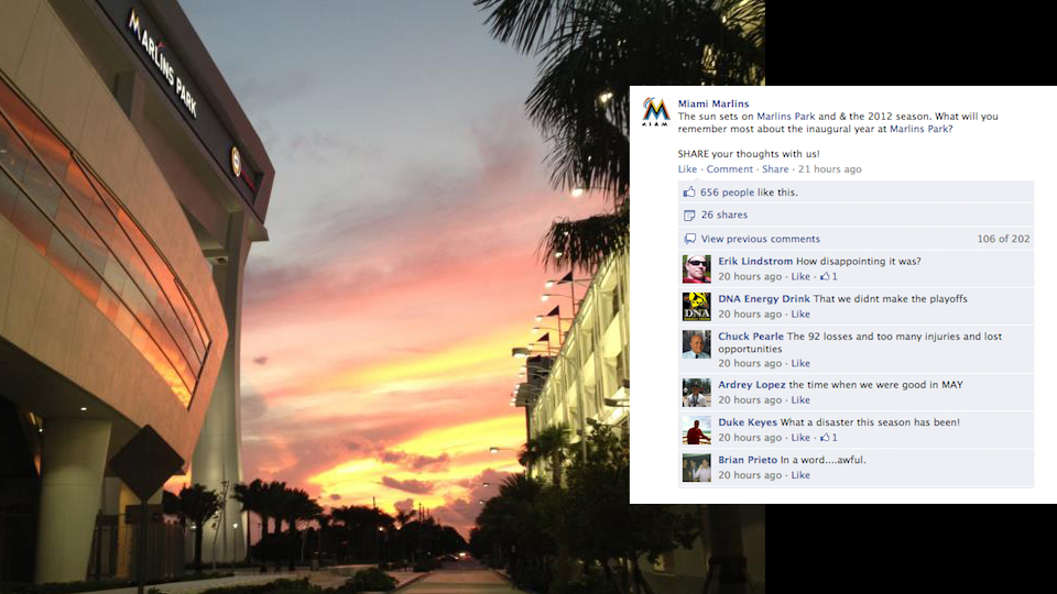 The Marlins Asked Fans To Share Their Favorite Memories From Th…