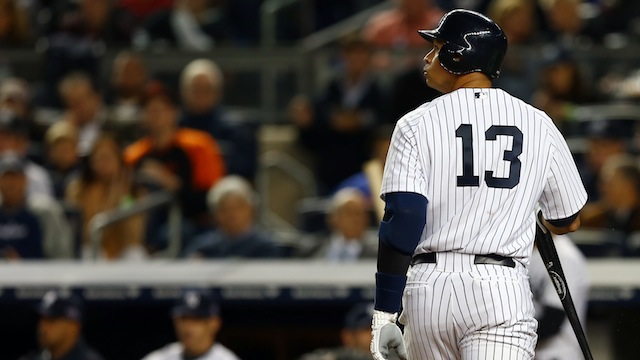 A-Rod benched for Game 5