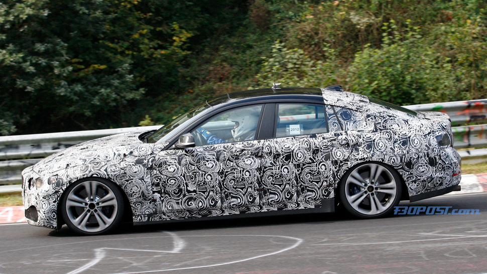 Rejoice, Four-Door Coupe Lovers! The BMW 4 Series Gran Coupe Debuts On The Nurburgring