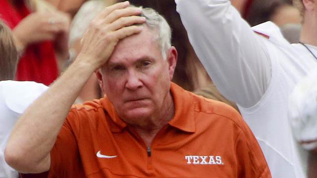 Texas, A 63-21 Loser To Oklahoma, Still Has Mack Brown Signed Through 2020