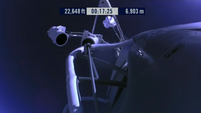 Space Jump Live Coverage: LAUNCHED!