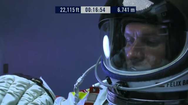 Space Jump Live Coverage: GOING UP!