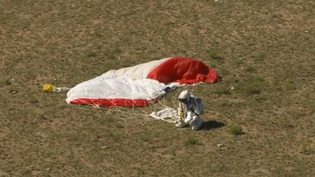 Space Jump Live Coverage: SUCCESS!