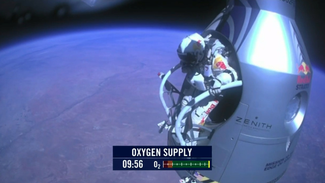 Red Bull's Insane 24 Mile Supersonic Stratos Space Jump Has Been A Success