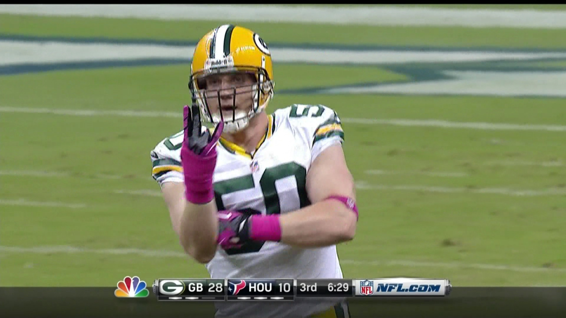 Aaron Rodgers Threw For Six Touchdowns, But It Was A.J. Hawk's …