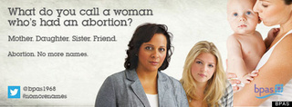 Britain Launches Nationwide Pro-Choice Awareness Campaign; Anti-Choicers Predictably Freak Out